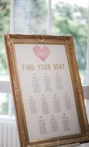 Table Plan Frames