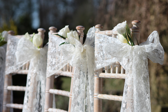 lace-chair-sashes-kirkley-hall-northumberland-close-up