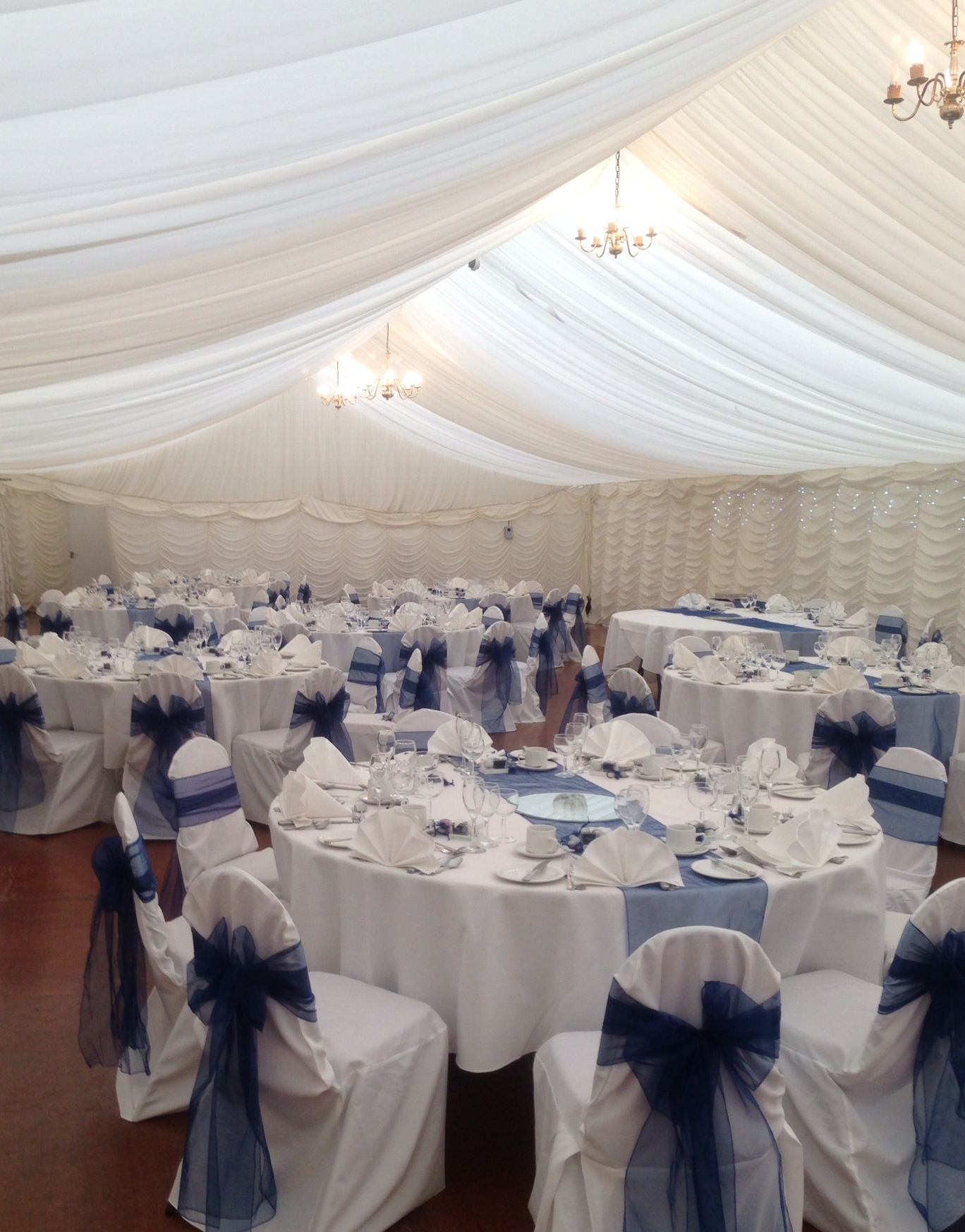 Chair Covers At Dissington Hall In Ponteland