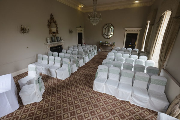 Linden hall wedding chair covers by styled and Cancelling a wedding at the last minute