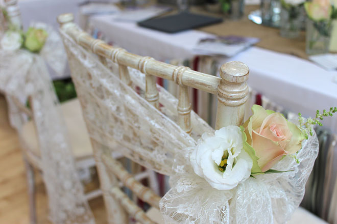 Newcastle Wedding Fair Lace Sash And Rustic