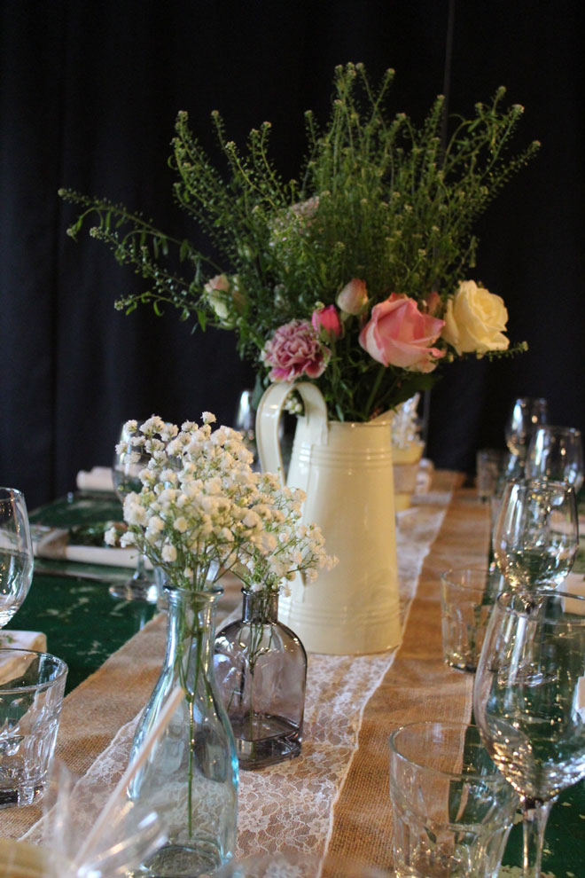 Vintage Wedding Flowers Newcastle : Wedding decorations and flowers for newcastle venue as you like itstyled seated