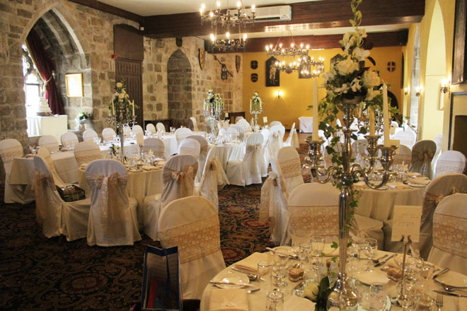 Chair covers and wedding decorations at Langley ...