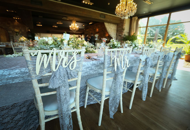 grey-lace-venue-styling-Elaine-and-Matthew-Newton-Hall-SCOTT-SPOCK-10